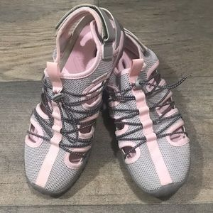 Pink and Gray JSport Jambu Water Shoes Size 9